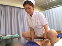 看護婦さんが痴女っぷり全開で濃厚ハメSEX☆